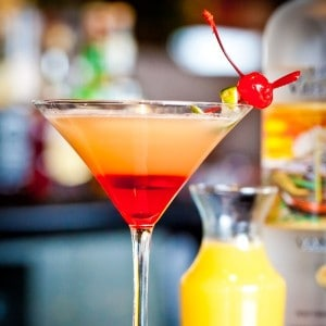 Thirsty Thursday: Pineapple Upside Down Cake Martini