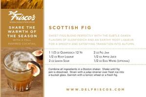 Thirsty Thursday: Scottish Fig From Del Frisco's Steakhouse