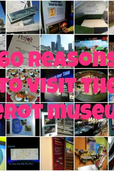 60 Reasons to Visit the Perot Museum