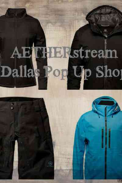 AETHERstream Pop Up Store Opens in Dallas