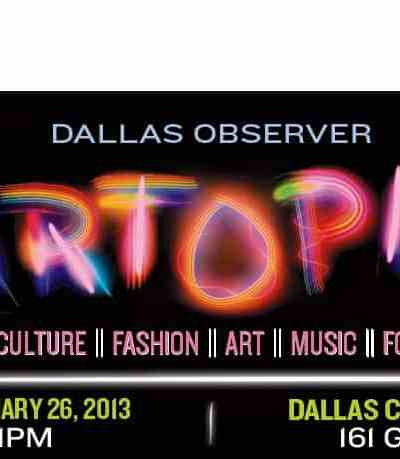 Save the Date: Dallas Observer Artopia