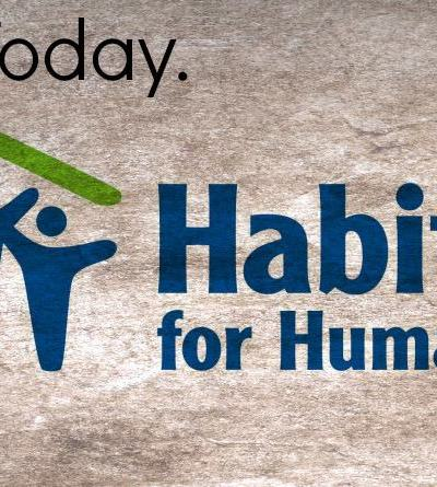 Donate Items to Habitat ReStores for 20% coupon