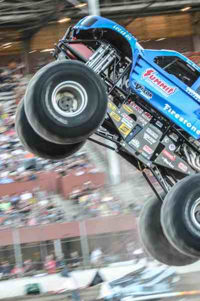 Mesquite Arena to Host the BIGGEST OF THE BAD Monster Trucks