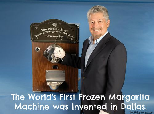 The Worlds First Margarita Machine Invented In Dallas By