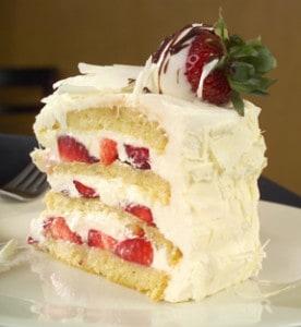 White Chocolate Berry Cake from Bread Winners