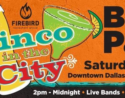 Cinco in the City Block Party at El Fenix Downtown