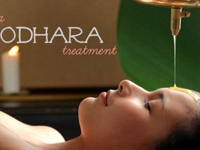 Try the Shirodhara Treatment at Pranaa Spa