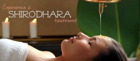 Experience a Shirodhara treatment for beauty and health benefits. #spa #health