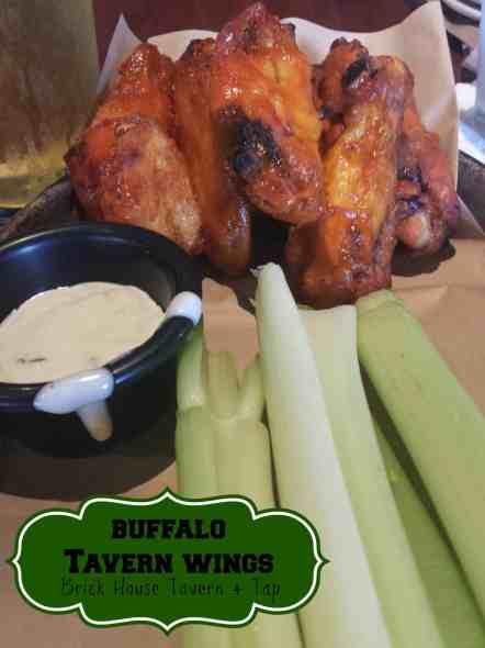 Buffalo Tavern Wings at Brick House Tavern + Tap. #food #wings #buffalo