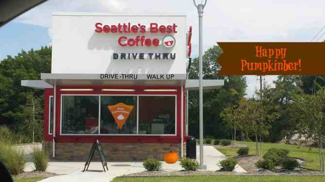 Celebrate Pumpkinber with Seattle's Best Coffee!
