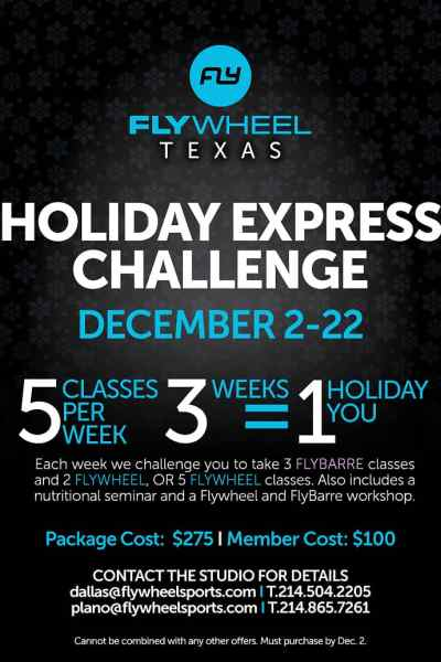 Take the Flywheel Holiday Express Challenge