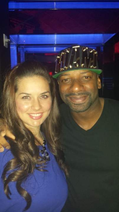 DJ Irie and Betsy Mitchell at LIV Miami - Brisk Bodega