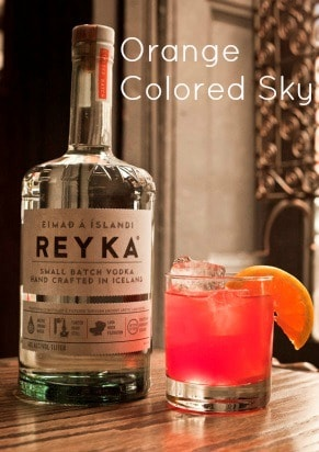 Orange Colored Sky - Holiday Cocktail