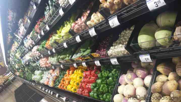 All assortments of Pepper and Produce at Kroger in Forney, Texas.
