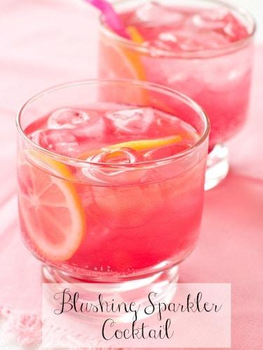 Blushing Sparkler Cocktail Recipe