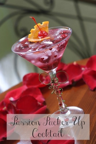 Passion Pucker-Up Cocktail Recipe