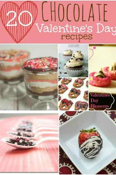 20 Chocolate Valentine's Day Recipes