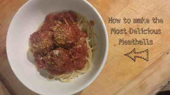 How to make the most delicious meatballs. Simple Recipe!