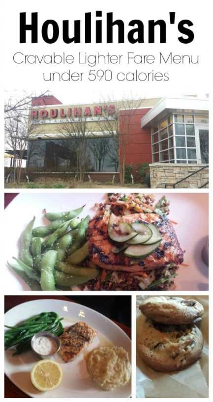 Houlihan's Offers Special Menu with items under 590 calories! #Soeatingthis