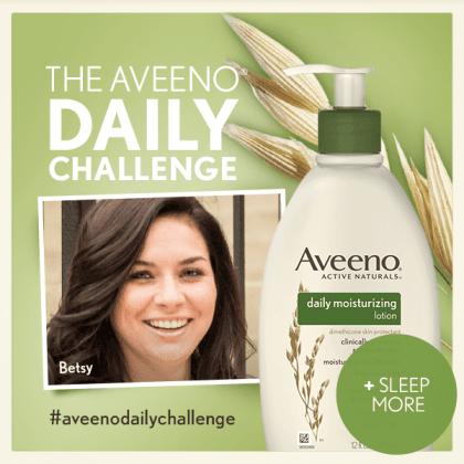 Aveeno Daily Challenge - Betsy Mitchell