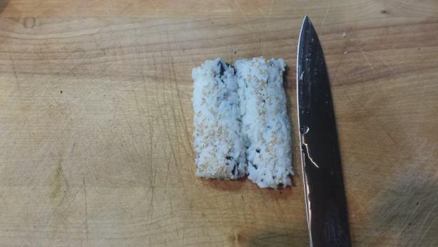 How to make sushi - california rolls