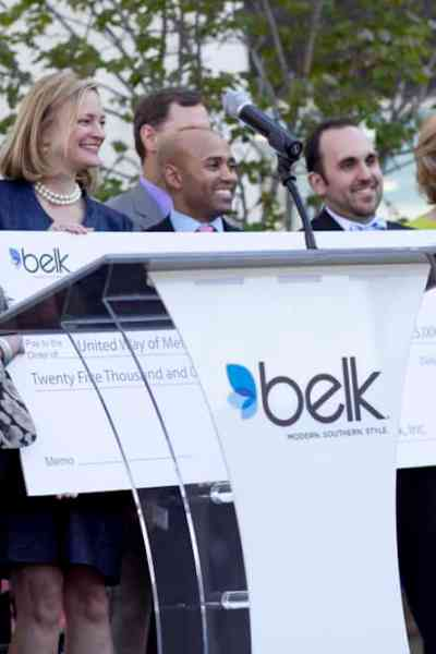 Belk Grand Opening and Ribbon Cutting at the Galleria Dallas