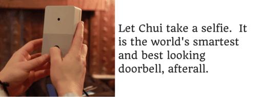 Let Chui take a selfie