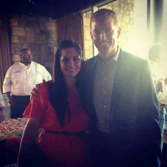 Jason Garrett & Betsy Mitchell at Taste of the NFL Dallas 2014