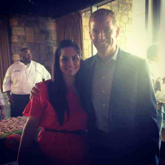 Jason Garrett & Betsy Mitchell at Taste of the NFL Dallas 2014