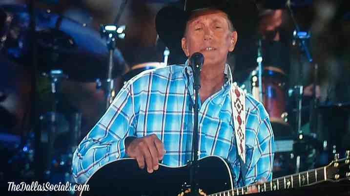 George Strait - Dallas tx - Verizon Wireless