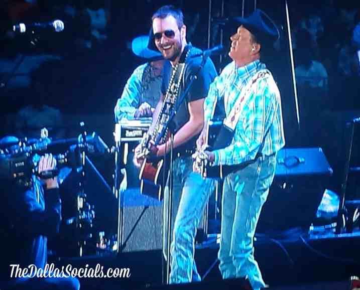Eric Church & George Strait - Cowboy Rides Away Tour Dallas - Verizon Wireless