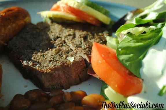 Dinner with Omaha Steaks