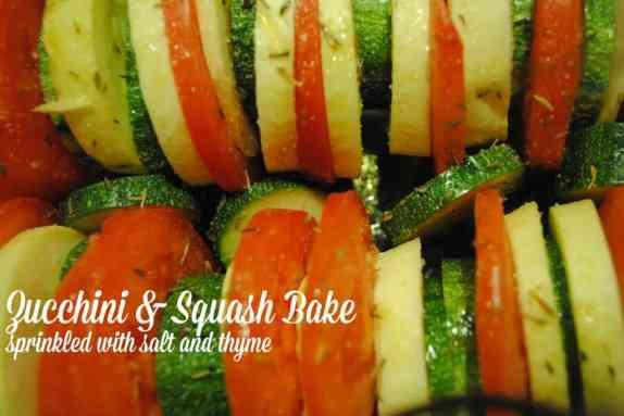 Zucchini and Squash Bake Recipe #summertime #recipes #healthy