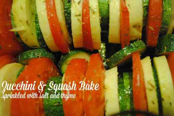 Zucchini and Squash Bake Recipe #summertime #recipes #healthy