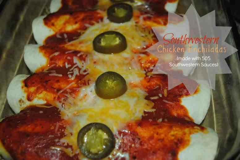 Southwestern Chicken Enchiladas recipe