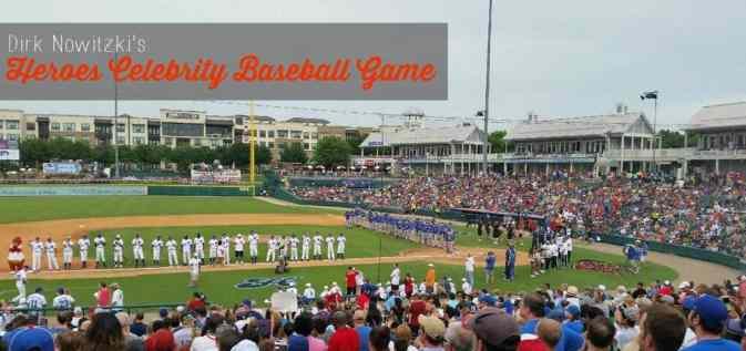 Dirk Nowitzki Heroes Celebrity Baseball Game 2014