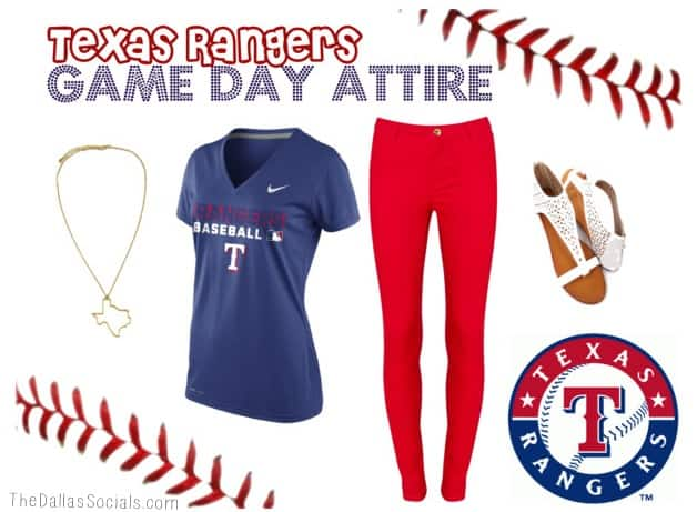 Texas Rangers Game Day Attire