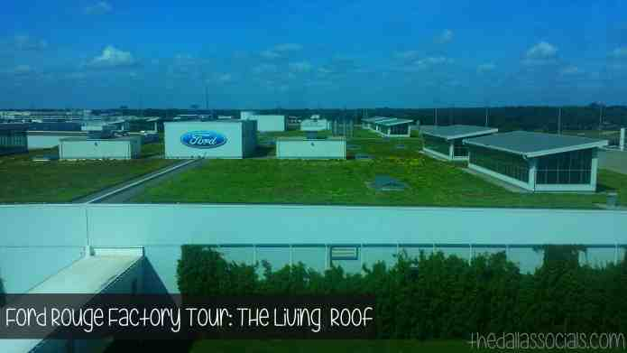 The living roof at the Ford Rouge Factory Tour in Detroit, Michigan. #fordtx
