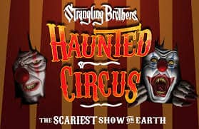 strangling brothers haunted circus - dallas haunted house
