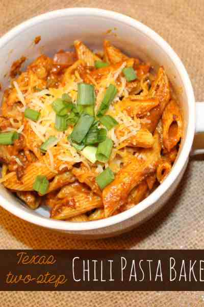 Easy and Delicious Dinner: Texas Two Step Chili Pasta