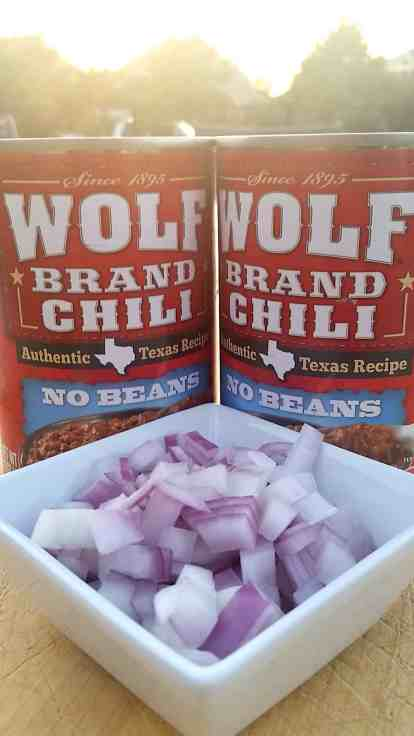 Two Step Chili with Wolf Brand Chili