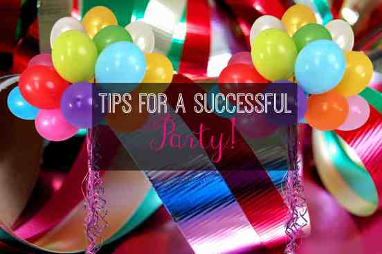 tips for successful party