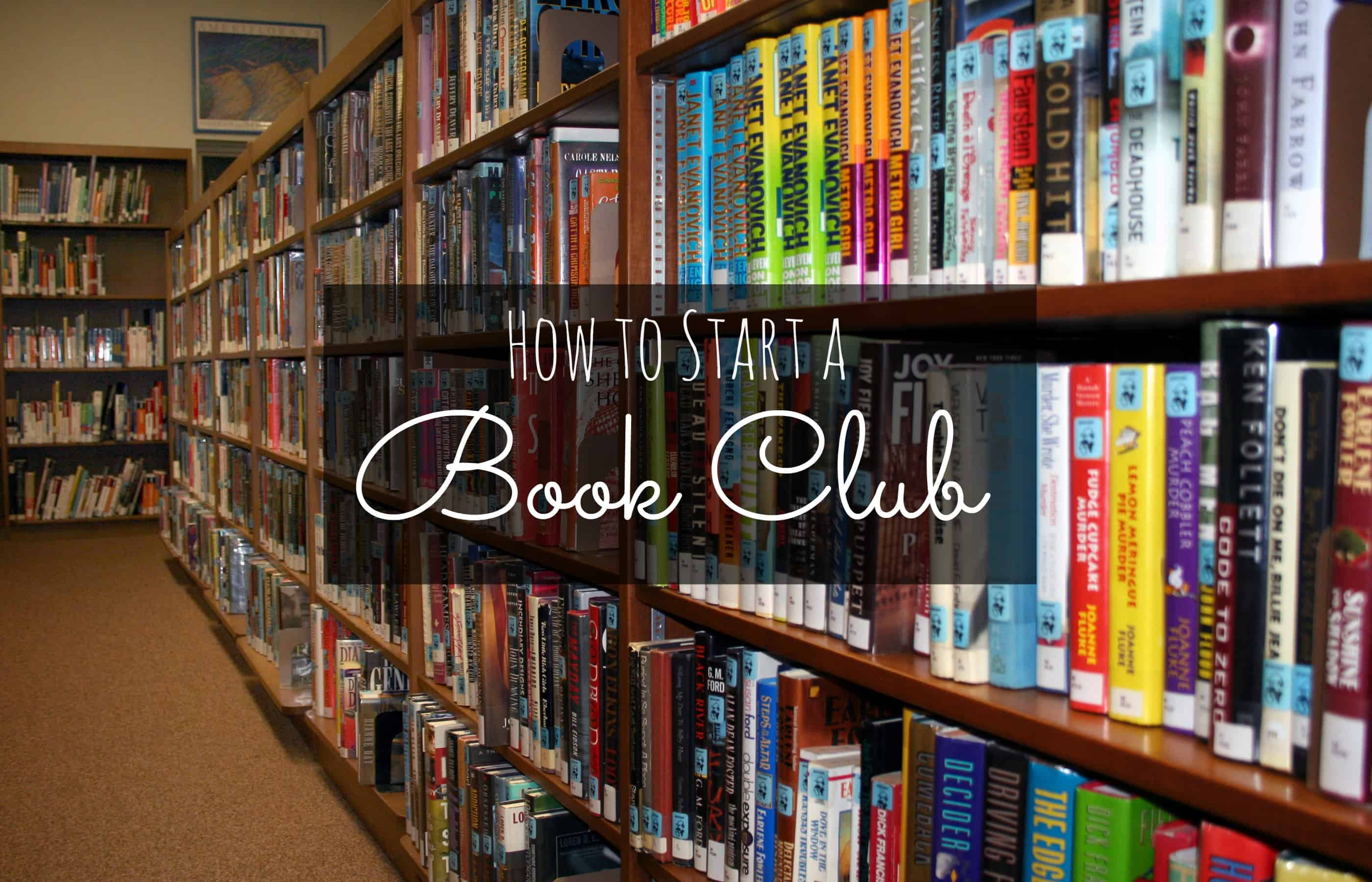 how to start a christian book club