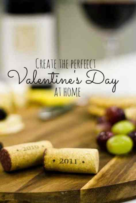 Create the perfect valentines day at home