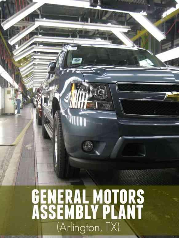 Inside the GM Assembly Plant - Arlington TX