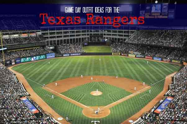 Heading to the Texas Rangers Game Don't miss out Outfit Ideas!