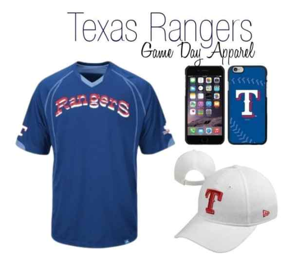 Texas Rangers Men's Game Day Outfit