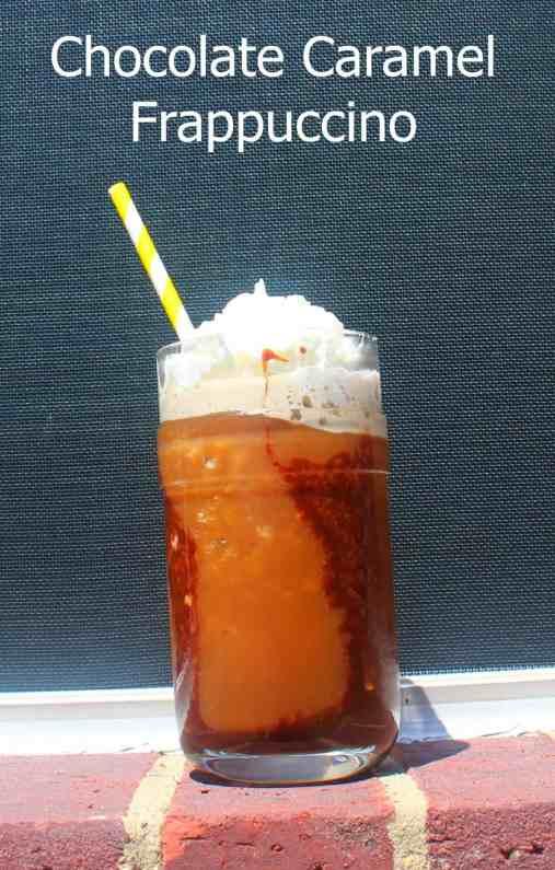 Homemade Chocolate Caramel Frappuccino 1