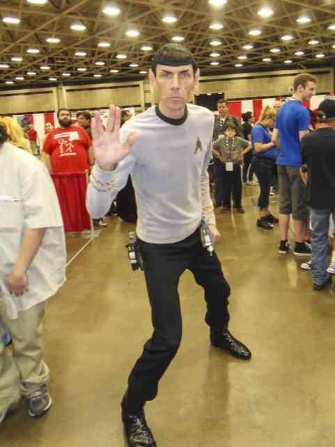 Spock Dallas FAn Expo
