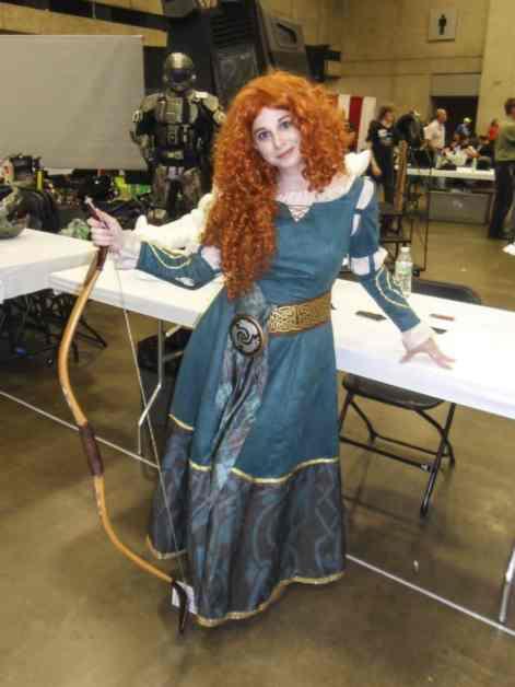 Merida from Brave - Dallas Fan Expo